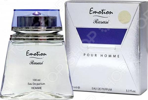 Парфюмированная вода для мужчин Rasasi Emotion Pour Homme, 100 мл парфюмированная вода для женщин rasasi hope 50 мл