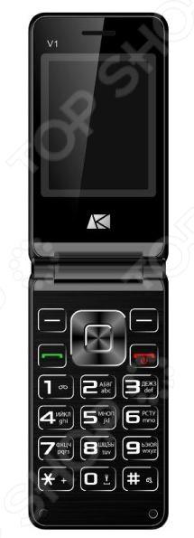 Мобильный телефон ARK Benefit V1 мобильный телефон ark benefit u281 белый 2 8 32 мб 3 симкарты