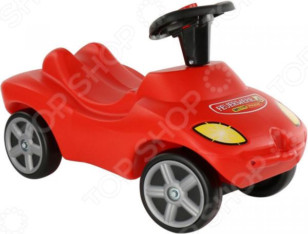 Машина-каталка Wader «Пожарная команда» со звуковым сигналом