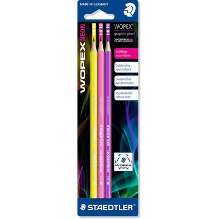 Купить Набор карандашей с ластиком Staedtler 182FBK3-1