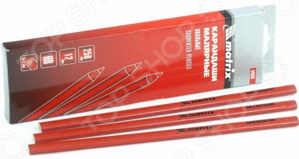 Набор карандашей малярных MATRIX 84808