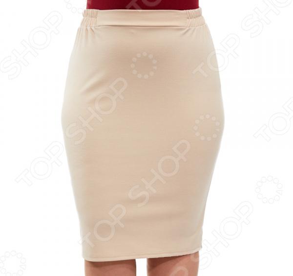 Юбка Laura Amatti «Венера». Цвет: бежевый юбка laura amatti изабелина цвет аквамарин