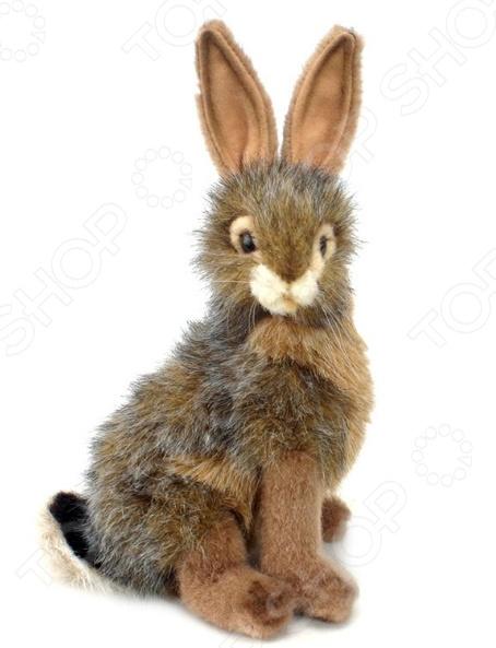 Мягкая игрушка Hansa «Чернохвостый заяц» мягкие игрушки hansa чернохвостый заяц 23 см