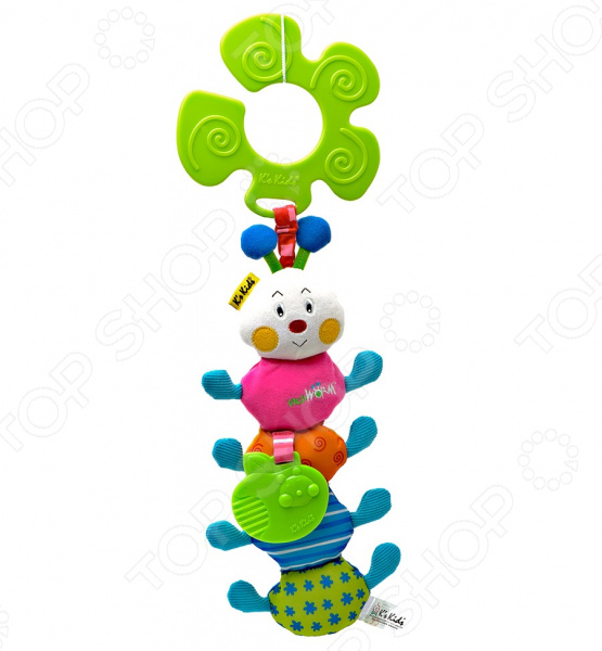 Подвеска детская K'S Kids Гусеничка погремушка шуршалка lamaze веселый тукан