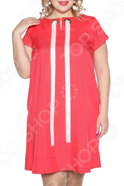Платье Prima Linea «Ямайка». Цвет: коралловый