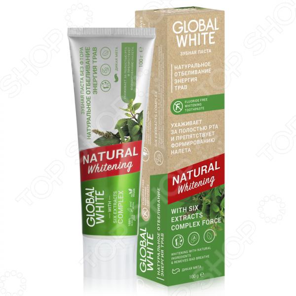 Фото - Отбеливающая зубная паста «Натуральное отбеливание» лесной бальзам зубная паста тройной эффект отбеливание с соком лимона на отваре трав 130 г