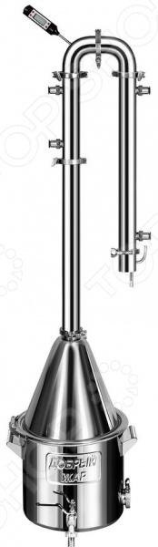 Самогонный аппарат Добрый Жар «Абсолют Про» дистиллятор непроточный добрый жар дачный 30 литров