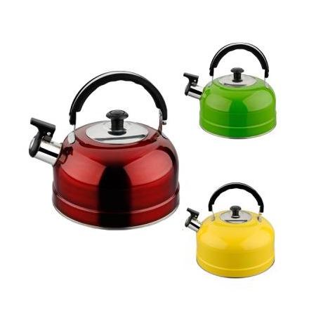 Купить Чайник со свистком Irit «Цветное ассорти». В ассортименте
