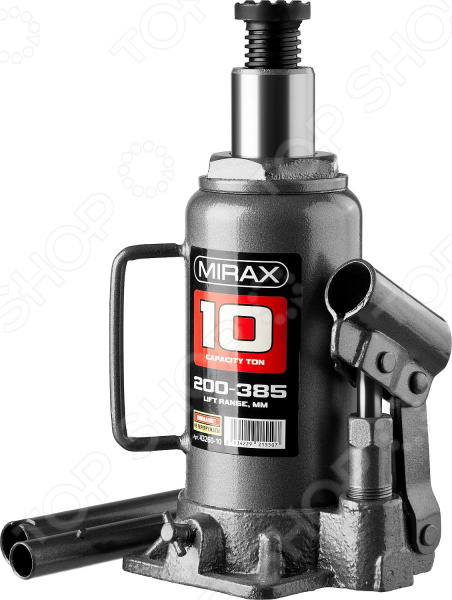 Домкрат гидравлический бутылочный Mirax 43260