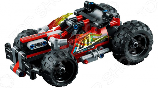 Конструктор-игрушка LEGO Technic «Красный гоночный автомобиль» lego technic конструктор гоночный автомобиль для побега