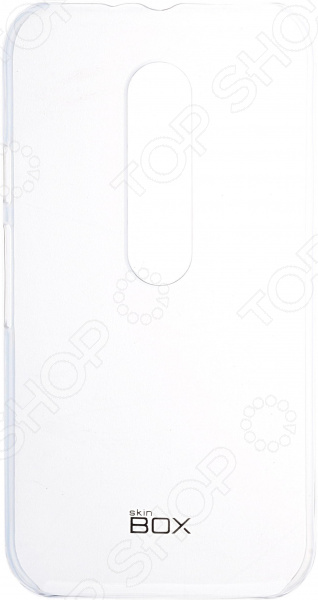Чехол защитный skinBOX 4People Crystal для Motorola Moto G