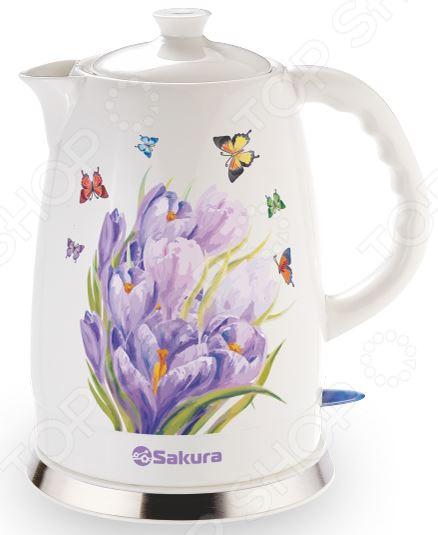 Чайник Sakura SA-2028S цена
