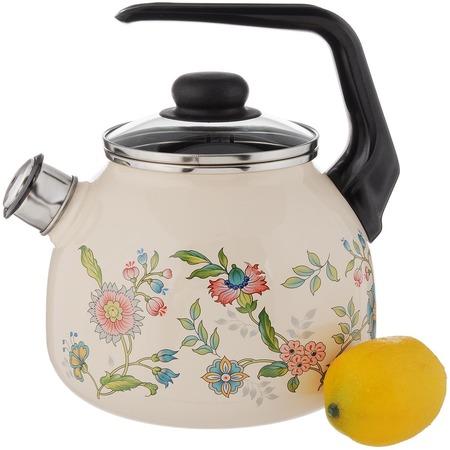 Купить Чайник со свистком Северсталь «Луговые цветы»