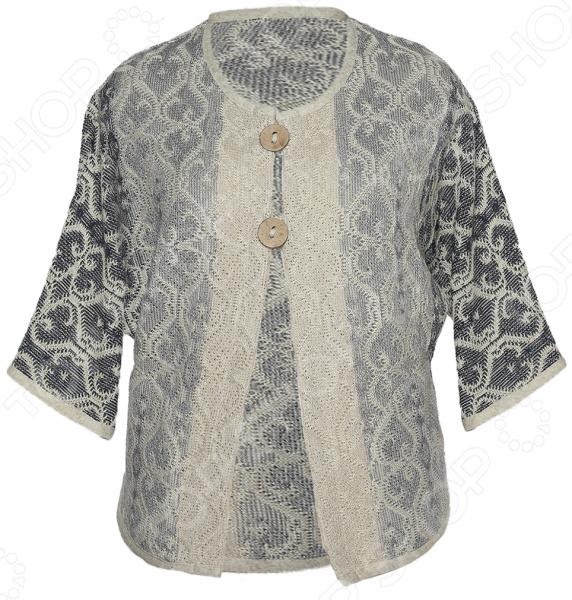 Жакет Milana Style «Дивный образ». Цвет: джинсовый
