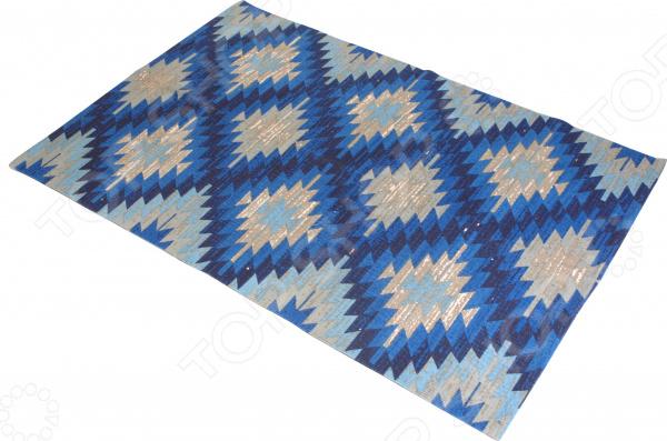 Коврик напольный Ricotio «Морозный узор» коврик коричневый 120х180 см