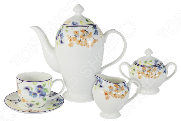Чайный сервиз Primavera «Акварель» Primavera - артикул: 1561223