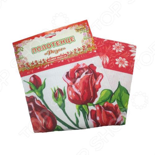 Полотенце кухонное Мультидом «Розы» МТ71-93. В ассортименте
