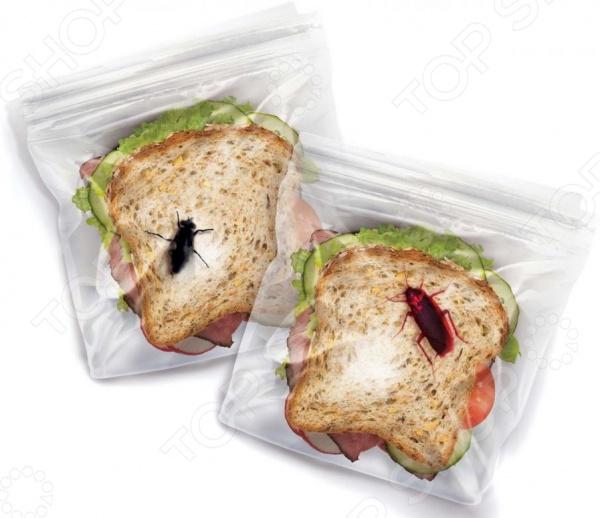 Набор пакетов для ланча Fred&Friends Lunch Bugs