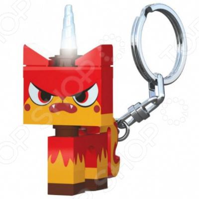 Брелок-фонарик LEGO Angry Kitty