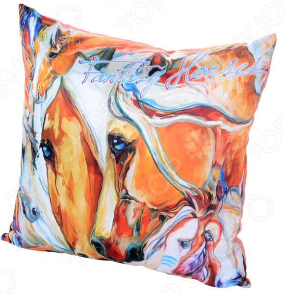 Подушка декоративная Gift'n'Home «Фантазии о лошадях»