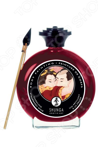 Крем-краска декоративная для тела Shunga «Шампанское и клубника» набор shunga geisha s secret клубника и шампанское 5 предметов