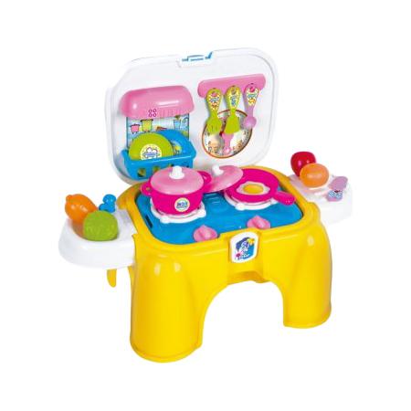 Купить Набор игровой для девочек Zhorya «Кухня» (с пищалкой)