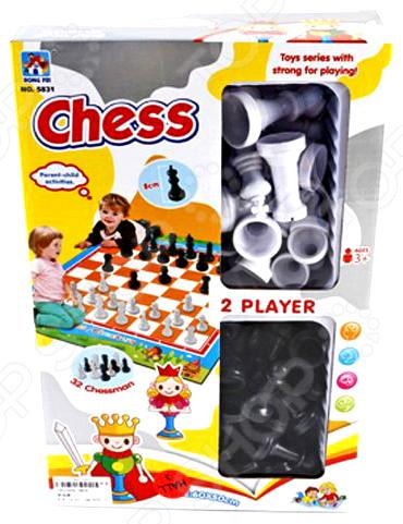 Игра развивающая Наша Игрушка «Шахматы напольные»