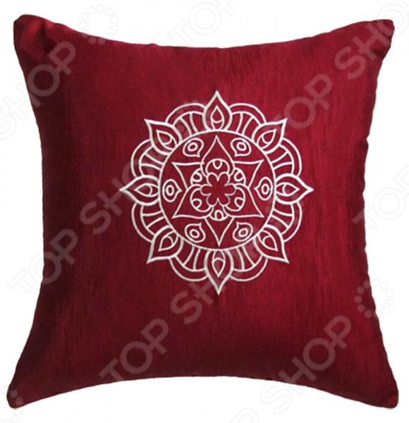 Подушка декоративная Primavelle с вышивкой «Ранголи»