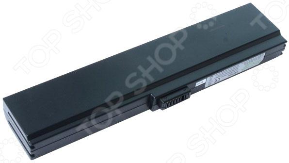 Аккумулятор для ноутбука Pitatel BT-163 black 5200mah аккумуляторная батарея для asus a33 m50 a32 m50 a32 x64 15g10n373830 l072051 15g10n373800 90 ned1b2100y