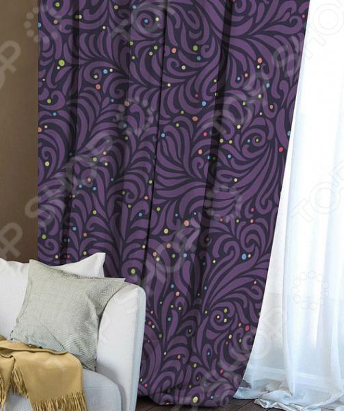 Домашний текстиль, в частности, шторы и гардины важная составляющая любого интерьера, ведь именно они делают помещение более уютным. Но как и любой другой элемент декора, шторы способны как подчеркнуть положительные стороны выбранного стиля интерьера, так и нарушить сложившуюся стилистическую и визуальную гармонию в вашем доме. С умом подобранные шторы способны преобразить вашу комнату, сделать её более светлой или уединенной, яркой или более спокойной, визуально больше или уютней. Обновить интерьер теперь просто! Штора блэкаут Волшебная ночь Chamomile это идеальный вариант для вашей гостиной, спальни, гостевой. Прочная, плотная и качественная штора не только стильно оформит оконное пространство, но и позволит правильно расставить акценты в интерьере, скрыть небольшие недостатки в отделке. Особенность данной модели заключается в стильном современном принте и насыщенной цветовой гамме. Такие шторы одинаково понравится ценителям классики и тем, кто следит за модными тенденциями!  Главная особенность и достоинство этой шторы заключается в материале, из которого она выполнена. Блэкаут это плотная, прочная и удивительно износостойкая ткань, которая обладает рядом достоинств:  светонепроницаемая, поэтому вы сможете легко регулировать степень освещенности в комнате;  этот приятный на ощупь материал прост в уходе, устойчив к загрязнениям и хорошо сохраняет тепло;  сохраняет свой первоначальный внешний вид после многочисленных стирок, не линяя и не теряя насыщенность, яркость цветов;  не накапливает статического электричества, поэтому не притягивает пыль.  за счет многослойной структуры надежно защищает от сквозняков.  Четыре ткани, четыре стиля, четыре степени Штора блэкаут Волшебная ночь Chamomile легко сочетается с другими изделиями из коллекции Волшебная ночь . Вы сможете дополнить и подобрать свою идеальную композицию, используя шторы из других тканей: сатена, габардина или вуали. Каждый тип ткани имеет свою степень светонепроницаемости от отсутствия затемнения до полно