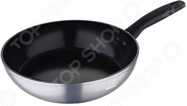 Сковорода Bergner Carbon TT. Высота: 7,5 см сковорода гриль bergner carbon tt