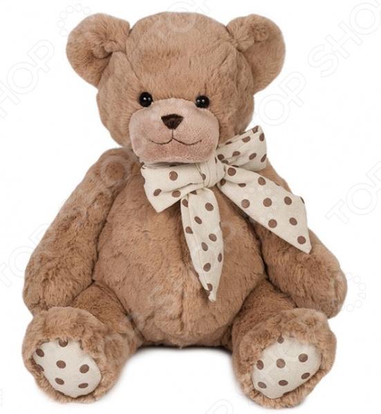 Мягкая игрушка Maxitoys «Мишка Брауни» мягкие игрушки maxitoys бульдог рокки в перчатках