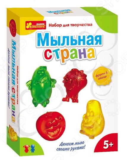 Набор для изготовления мыла Ранок «Мыльная страна. Овощи и фрукты»