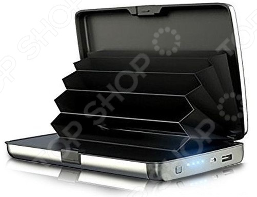 Умный кошелек 2 в 1 с зарядкой E-Charge Wallet. В ассортименте