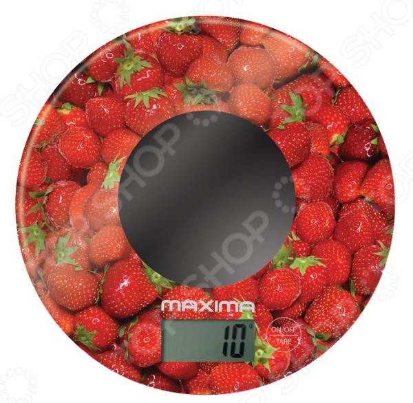 Весы кухонные Maxima MS-067 «Клубника»