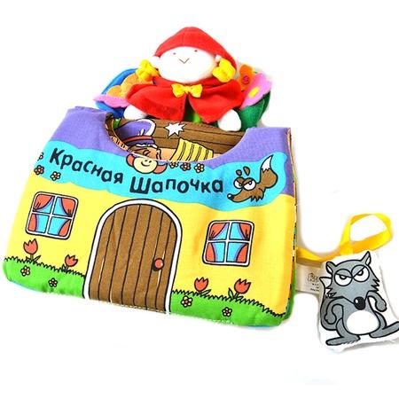 Купить Книжка-игрушка K'S Kids «Красная шапочка»