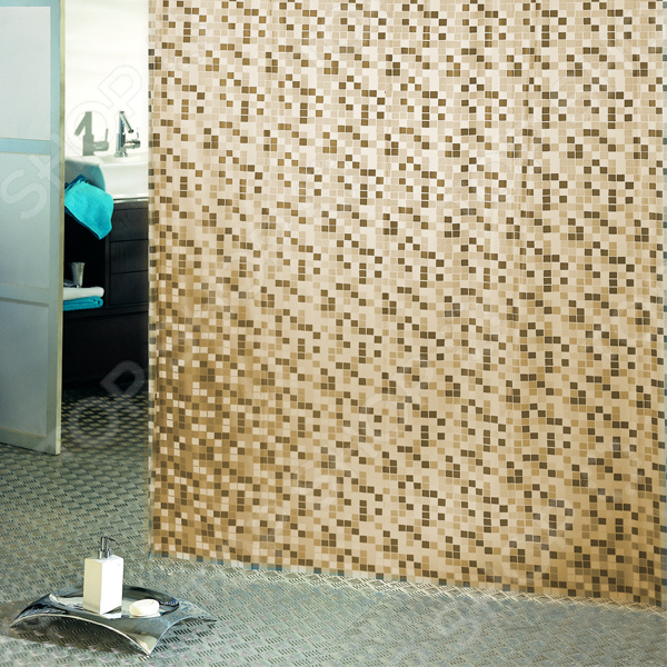 Штора для ванной Bacchetta Mosaico