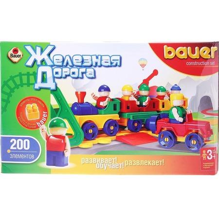 Купить Конструктор игровой Bauer «Железная дорога» 23090