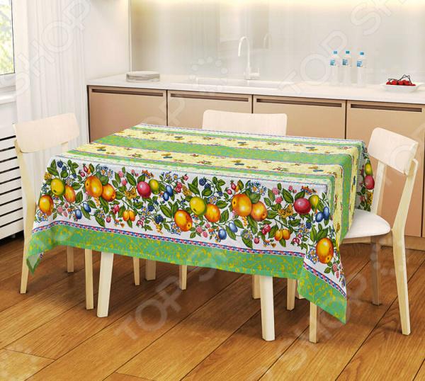 Скатерть ТексДизайн «Фруктовая палитра» скатерть фруктовая палитра р 120х145