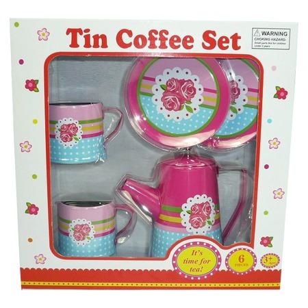 Купить Набор посуды игрушечный 1 Toy «Кофейный сервиз»