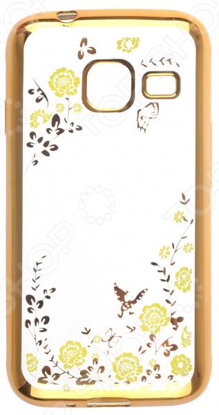 Чехол защитный skinBOX 4People color style для Samsung Galaxy J1 mini (2016)