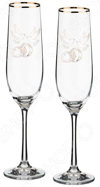 Набор бокалов Bohemia Crystal 674-560 набор бокалов для бренди коралл 40600 q8105 400 анжела