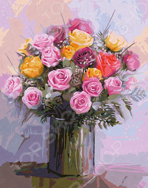 Набор для рисования по номерам Schipper «Букет роз»