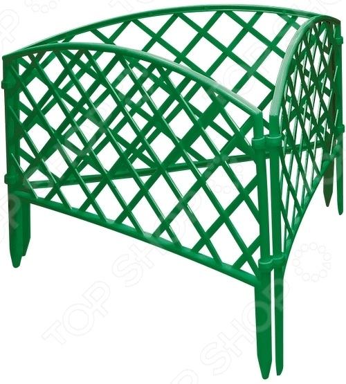 Забор декоративный «Плетенка» Такой забор идеально подойдет для ограждения грядок, газонов клумб...
