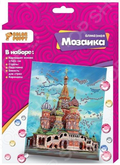 Набор для создания мозаики Color Puppy «Собор Василия Блаженного» cubic fun собор василия блаженного c707h