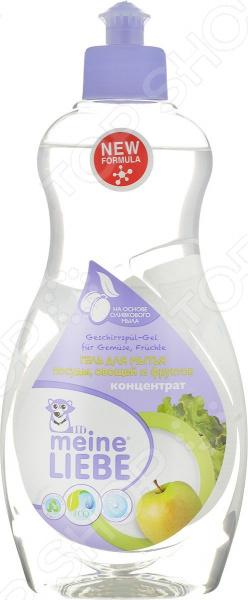 Гель для мытья посуды, фруктов и овощей Meine Liebe danone биойогурт густой термостатный 4