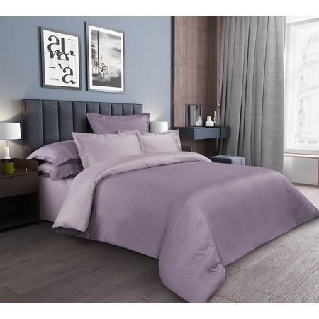 Купить Комплект постельного белья ТексДизайн «Аметист». Цвет: сиреневый
