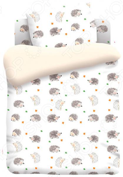 Ясельный комплект постельного белья Непоседа «Ёжики» дозоры и непоседа