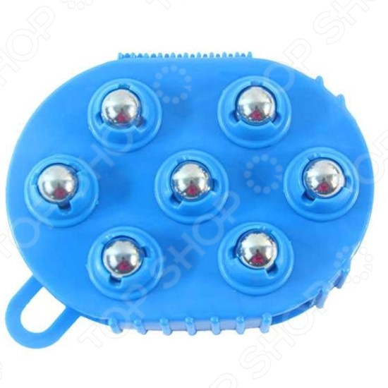 Варежка массажная с шариками Ruges «Массаж-7»