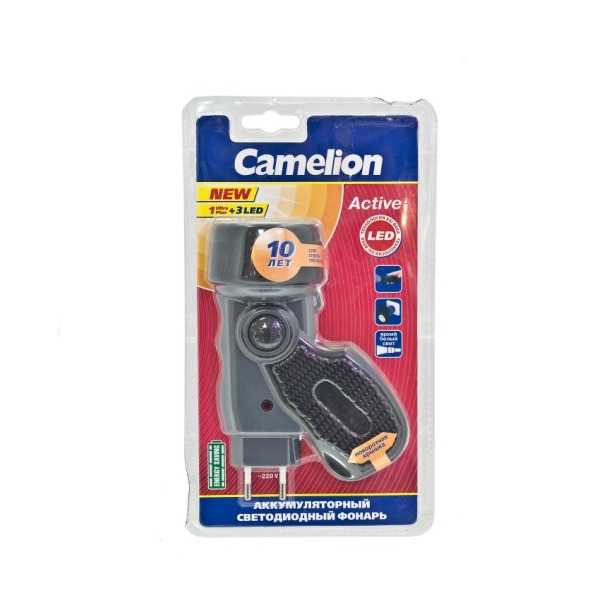 фото Фонарик аккумуляторный Camelion C-2802